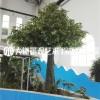 仿真大树大型假树仿真绿植仿真榕树室内包柱子樱花树红枫树桃花树