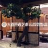 仿真迎客松 罗汉松树 样板间软装玄关酒店大堂景观装饰可定制